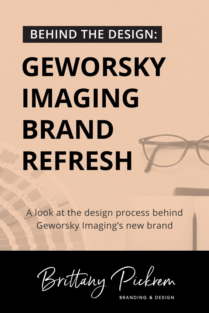Behind the Design Blog Post: Geworsky Imaging Brand Refresh