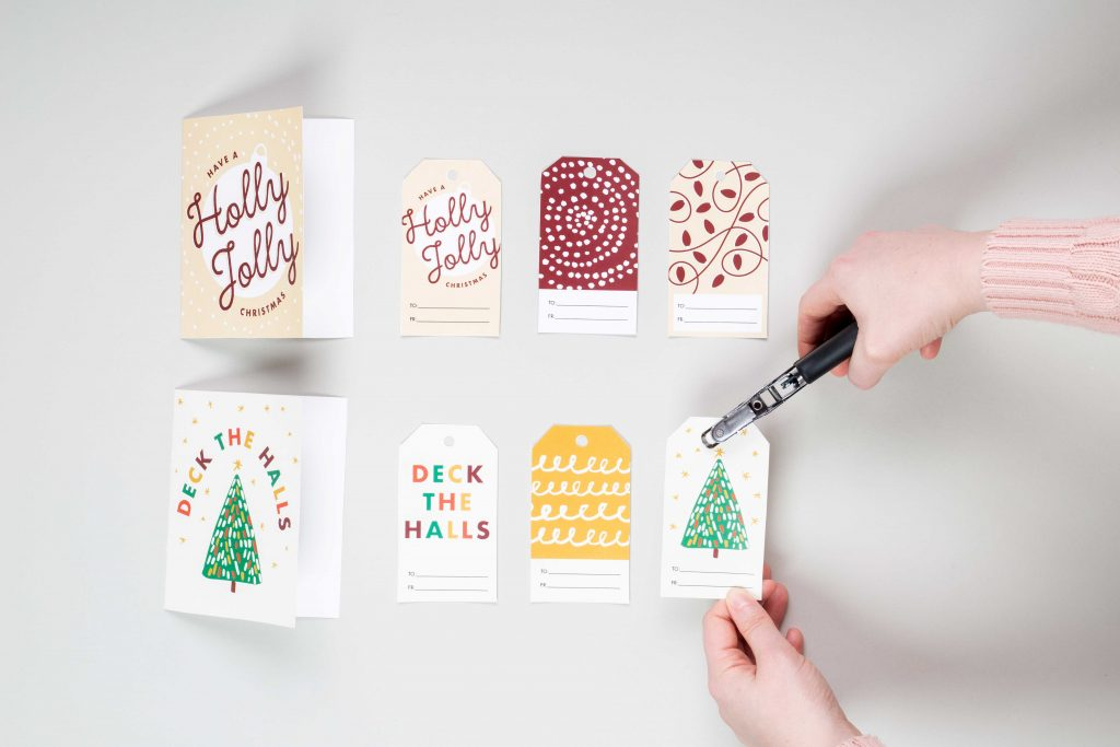 Free Holiday Gift Tags and Cards